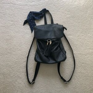 nordstrom faux leather purse backpack